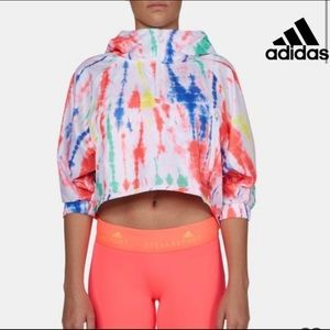 Adidas Stella McCartney Jacket Large Tie Dye